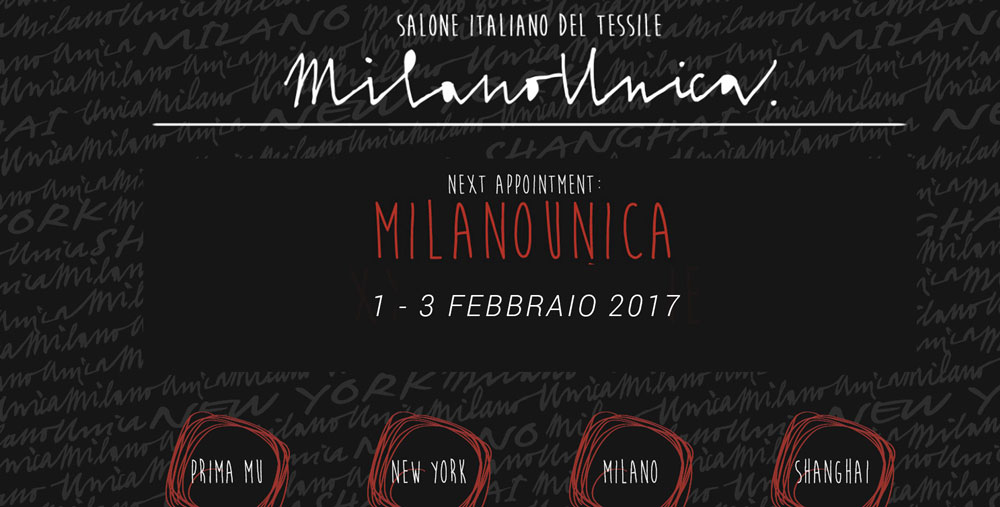 Event IdeaBiella Milano Unica 2017